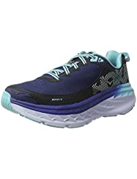 Hoka One One Women's W Bondi 5 Medieval Blue/Blue Radiance Running Shoe 8 Women US