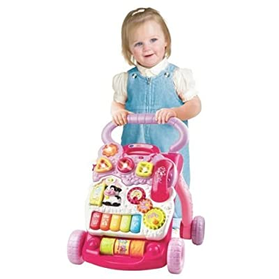VTECH SIT TO STAND ALPHABET TRAIN TODDLER LEARNING TOY TEACH CHILD INFANT WALKER : Baby