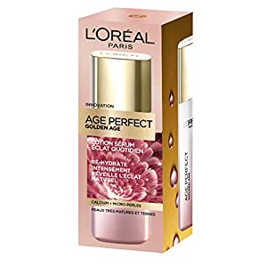 L'Oréal Paris – Age Perfect – Golden Age – Lotion Sérum – Anti-Relâchement & Eclat – Peaux Matures – 125 mL
