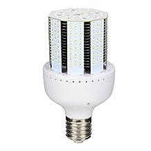 FYEO 40W Watt High Power LED Corn Light Bulbs Lamp, 4000LM E39 Mogul Base Bulbs, 200-250 Watt Replacement, 6000K Daylight White, for warehouse, garage, garden, home, office, hotel,etc(40 Watts)