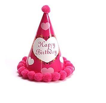 Amazon.com: Just us DIY sombrero de cumpleaños fiesta de ...