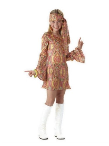 Dolly Child Disco (California Costumes Girls Disco Dolly Costume XL (12-14))