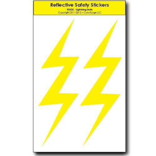 Lightning Bolts REFLECTIVE Decals