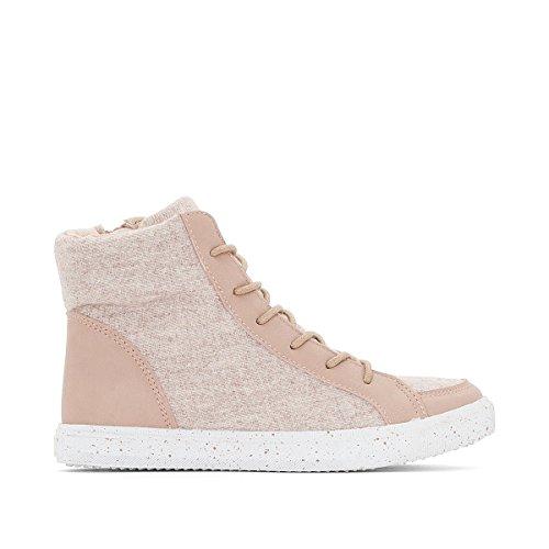 La Redoute Collezioni Big Girls Doppi Sneaker In Tessuto Rosa