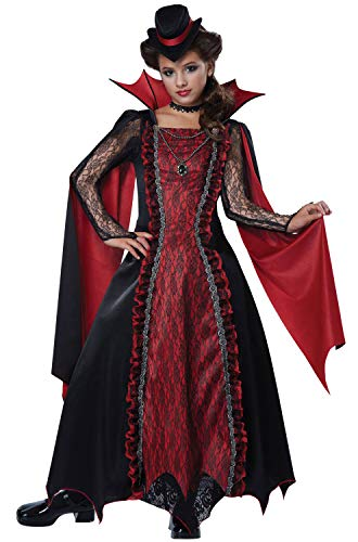 Goth Princess Costume (California Costumes Victorian Vampira Child Costume,)