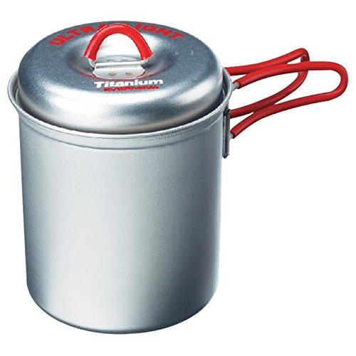 EVERNEW TI Ultralight Deep Pot, Small/0.6 L