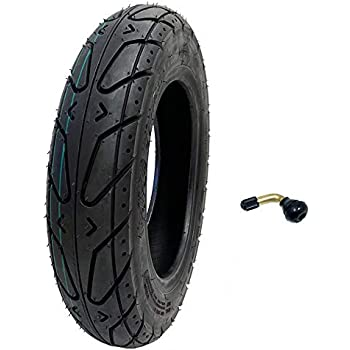 Amazon.com: MMG Set of 2 Scooter Tubeless Tires 3.50-10 ...