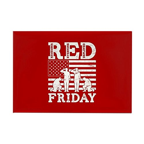 CafePress RED Friday Soldiers Rectangle Magnet, 2