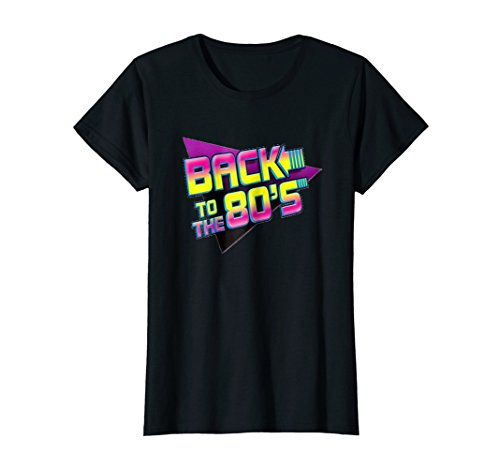 Womens Back To The 80s Graphic T-Shirt - 5 colors - S to XL