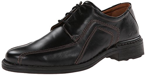 Josef Seibel Men's Sander Oxford, Black, 44 BR/10.5 M US