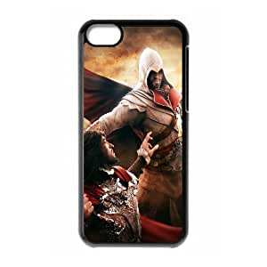 Assassins Creed Game iPhone 5c Cell Phone Case Black yyfabc-427672