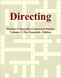 Book Directing - Webster's Specialty Crossword Puzzles, Volume 1: The Essentials Edition