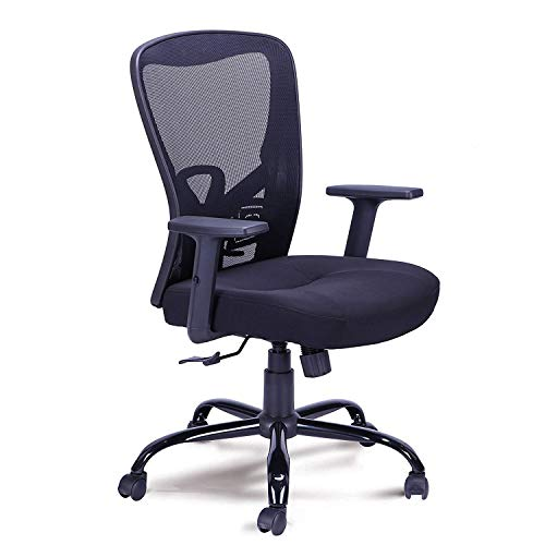RMXMY Fashion Casual ergonomics Comfortable Rotating Computer Desk Task Home Lift Adjustment with armrests Office Conference Room Chair Swivel Chair (Conference Swivel)
