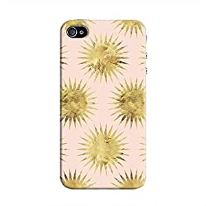 Cover It Up - Gold Pink Star iPhone 4/4s Hard Case