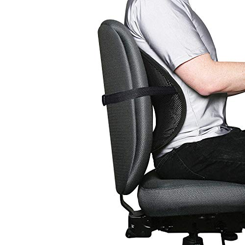 Emporium Car Back Pain Relief Lower Back Support for Chair Back Rest for Office Chair Lumbar Support Orthopedic Cushion for Back Belt for Men Pain Back Support for Sciatica Pain Relief Home Seat