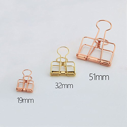 Rose Gold Out Metal Wire - - Pack