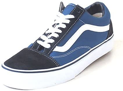 vans bleu blanc