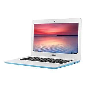 【日本正規品】 ASUS ノートブック Chromebook スカイ ブルー ( Chrome OS / 13.3inch / Celeron N2830 / 2G / 16G EMMC / 英語キーボード ) C300MA-BLUE