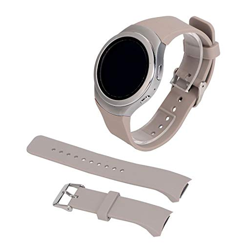 Jewh Replacement Durable Wrist - Watch Band Silicone Samsung Galaxy Gear S2 SM-R720 Smart