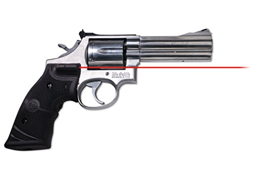 Crimson Trace LG-314 Lasergrips Red Laser Sight Grips for Smith & Wesson N Frame (Round Butt) Revolvers