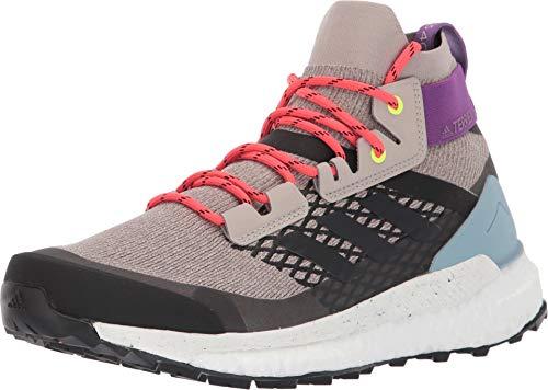 adidas outdoor Terrex Free Hiker Boot - Women's Light Brown/Simple Brown/Ash Grey, 6.0