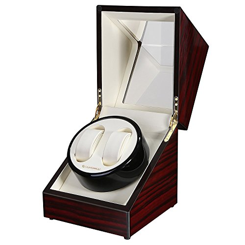 Watch Slot Winder (SONGMICS Double Watch Winder with Quiet Japanese Mabuchi Motor UJWW11RD)