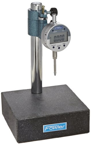 Fowler 54-580-250 Indi-X Blue Electronic Indicator and Stand Combo, 6