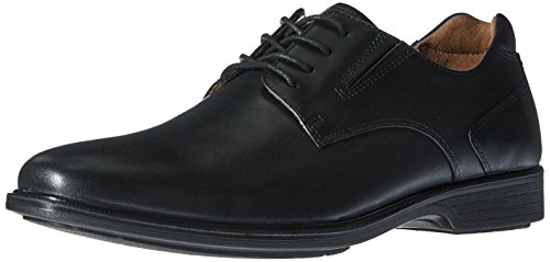 Hush Puppies Men's Echo Workday Oxford, Black Wp Leather, 9 M US - Echo Oxford