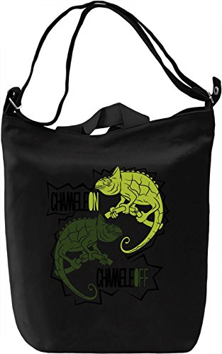 Chameleon Chameleoff Borsa Giornaliera Canvas Canvas Day Bag| 100% Premium Cotton Canvas| DTG Printing|