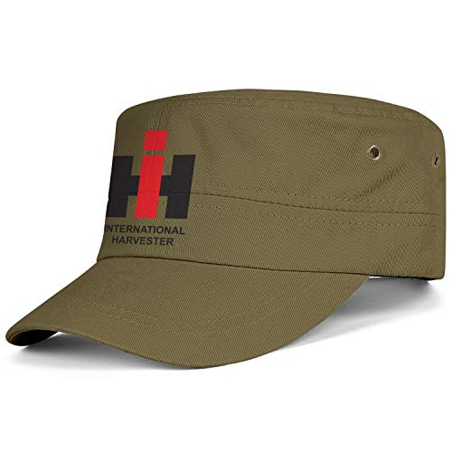 (Unisex Snapback Hat Vintage Adjustable International-Harvester-Information- Military Cap)