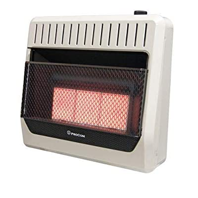 ProCom ML3PHG Ventless 28K BTU Infrared Wall Heater - LP