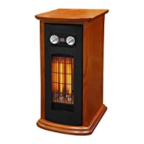 Source Green Heater Wood 3 Elements 1500W, Brown
