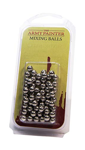 The Army Painter Paint Mixing Balls - Rust-proof Stainless Steel Balls for Mixing Model Paints - Stainless Steel Mixing Agitator Balls, 5.5mm/apr. 0.22