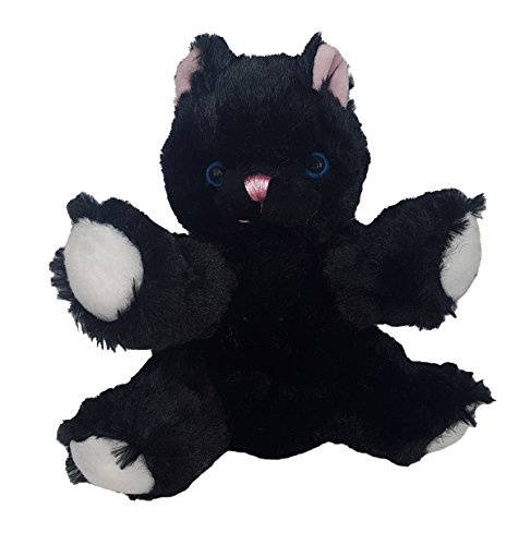 Stuffems Toy Shop Record Your Own Plush 8 inch Black Cat - Ready to Love in A Few Easy Steps from Stuffems Toy Shop