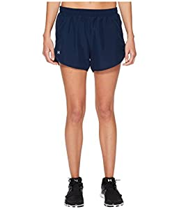 Under Armour Women's Fly-By Shorts, X-Large, Academy/Reflective