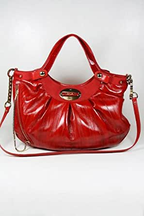 Versace Handbags Red Exotic Leather DBFB836