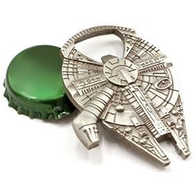 Rebel Alliance Star Wars Millenium Falcon Metal Bottle Opener