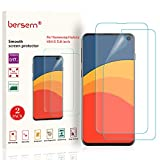 2-Pack BERSEM Screen Protector for Samsung Galaxy S10E, Full Coverage Screen Protector,HD Clear Film with Easy Installation Tray for Galaxy S10E