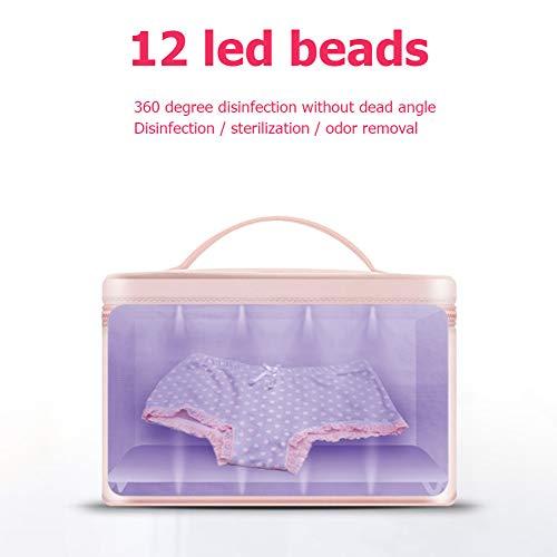 12LED UV-Desinfektionslampe Unterwäsche Sterilisator Haushaltskeimtötendes Licht