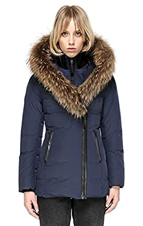 db22540c53d9 Mackage Adali Fitted Winter Down Coat With Fur Hood - Womens