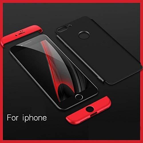 Mobina MBNGKKIPHN8PLSBLK Back Case Cover for Apple iPhone 8