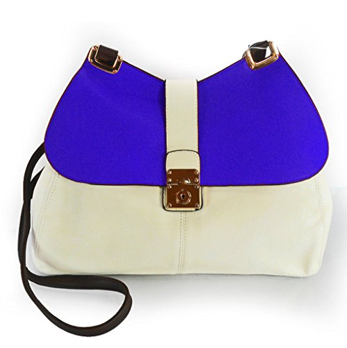 Flap Top Color Miztique w Strap Blue Block Hobo fEddqgwt
