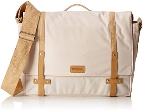 Basil Portland Cycling Messenger Bag Creme