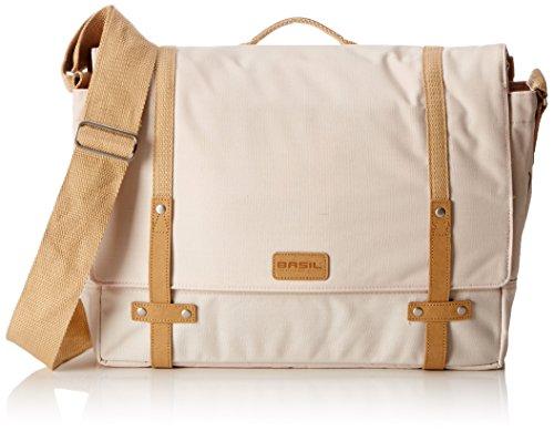 Basil Portland Messenger Bag - Creme, 16 L