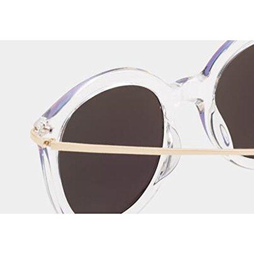sol de de libre al Protección Protección sol sol de mujer UV400 Mar para Opcional polarizadas de Gafas Gafas sol nuevas Estrella excursionista de de Gafas Personalidad purple Regalos Frame Blue Blue aire Gafas conducción UV Transparent d0nXHBzd