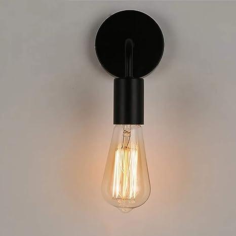 Lámpara de pared e27 portalámparas metal Vintage lámpara de pared retro industrial Loft estilo para oficina Pasillo restaurante Sótano untergeschoss ...