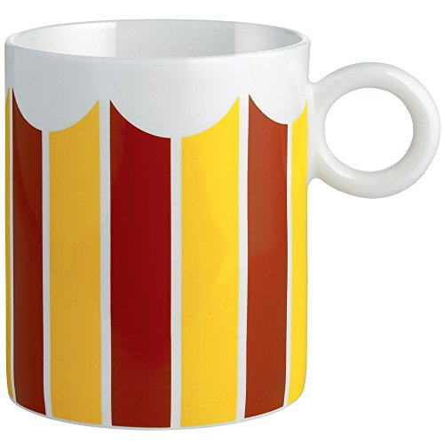 Alessi MW58 3 Decorative Circus,Mug, Multicolor
