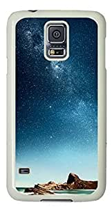 3D Stone Easter Thanksgiving Personlized Masterpiece Limited Design PC White Case for Samsung Galaxy S5 I9600 by Cases & Mousepads