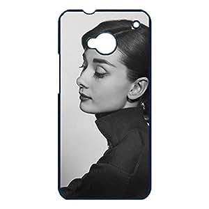 Hot Design Audrey Hepburn Phone Case Cover For Htc One M7 Audrey Hepburn Unique Design
