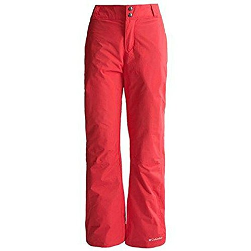 Columbia Women's Arctic Trip Ski Snow Pants RED INSULATED...